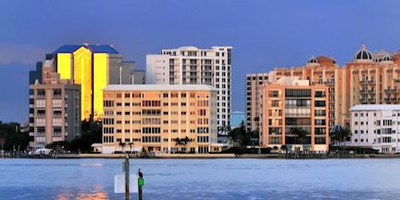Condos on the Water Downtown-Sarasota Florida