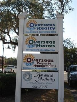 Overseas street sign