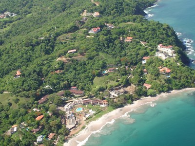 Ocean-front and beach-view properties in Costa Rica