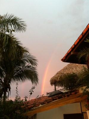 Rainbow over Flamingo dream property