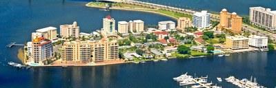 Sarasota Marina Arial View Florida  Real Estate Investments
